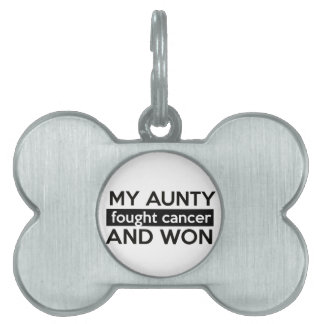Cancer designs pet ID tags