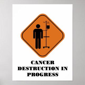 Cancer Destruction in Progress Poster