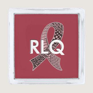 Cancer Disease Awareness Ribbon Pick Any Color Silver Finish Lapel Pin
