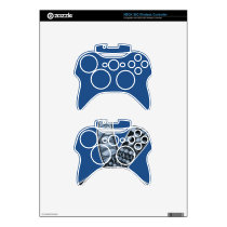 Cancer Disease Awareness Ribbon Pick Any Color Xbox 360 Controller Skin