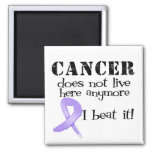 Cancer Does Not Live Here Anymore Fridge Magnet