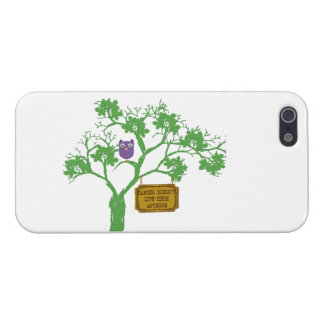 Cancer Doesn't Live Here Tree Owl Cover For iPhone SE/5/5s