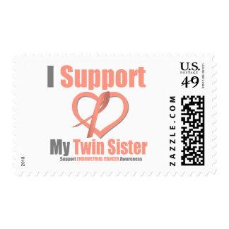 Cáncer endometrial apoyo a mi hermana gemela franqueo