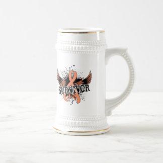 Cáncer endometrial del superviviente 16 taza de café