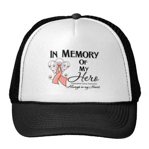 Cáncer endometrial en memoria de mi héroe gorra