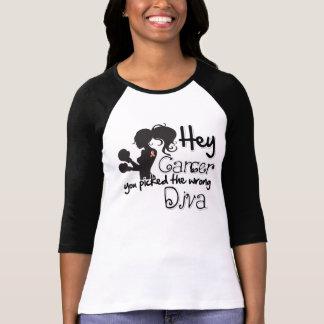 Cáncer ey endometrial usted escogió a la diva camisetas