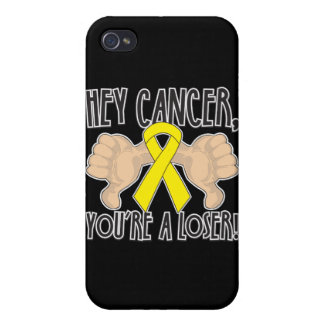 Cáncer ey testicular usted es un perdedor iPhone 4 carcasa