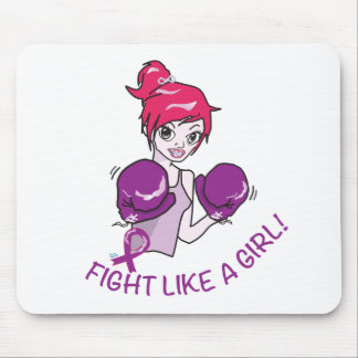 CANCER FIGHT-CAREGIVERS MOUSE PAD