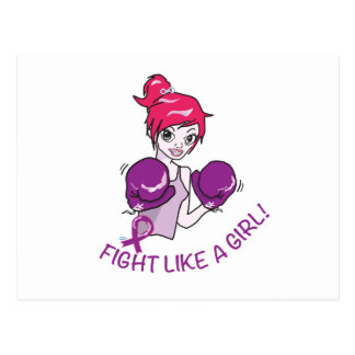 CANCER FIGHT-CAREGIVERS POSTCARD