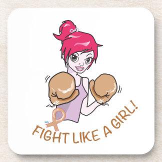 CANCER FIGHT-CHILDHOOD BEVERAGE COASTER