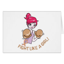CANCER FIGHT-CHILDHOOD CARD