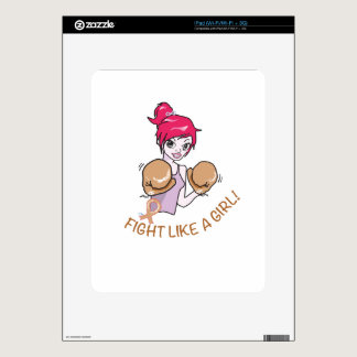 CANCER FIGHT-CHILDHOOD DECAL FOR THE iPad