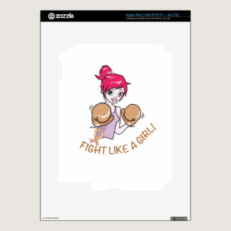 CANCER FIGHT-CHILDHOOD DECALS FOR iPad 3