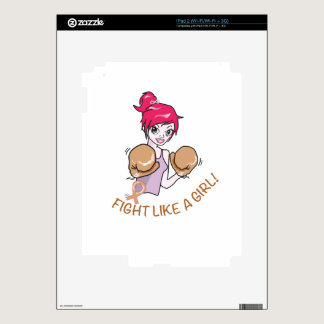 CANCER FIGHT-CHILDHOOD iPad 2 SKINS