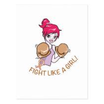 CANCER FIGHT-CHILDHOOD POSTCARD