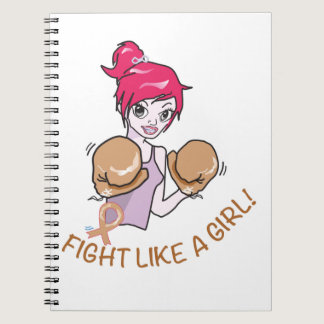 CANCER FIGHT-CHILDHOOD SPIRAL NOTEBOOK
