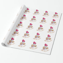 CANCER FIGHT-CHILDHOOD WRAPPING PAPER