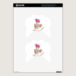 CANCER FIGHT-CHILDHOOD XBOX 360 CONTROLLER DECAL