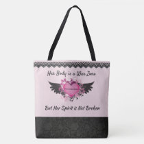 Cancer Fighter, Tote Bag