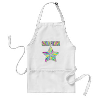 Cancer Fighting Star Adult Apron