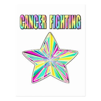 Cancer Fighting Star Postcard