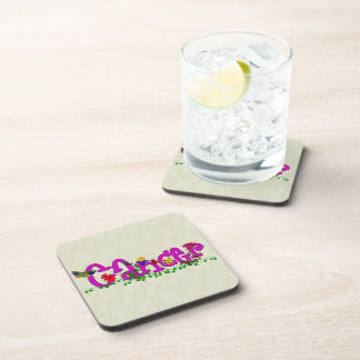 Cancer Flowers Coaster