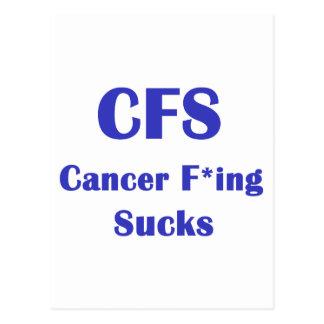 Cancer Freaking Sucks - CFS Post Card