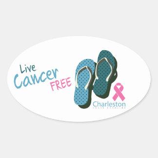 Cancer Free Charleston South Carolina Sticker