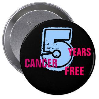 Cancer Free Pin!