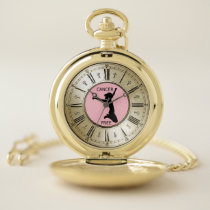 CANCER FREE POCKET WATCH