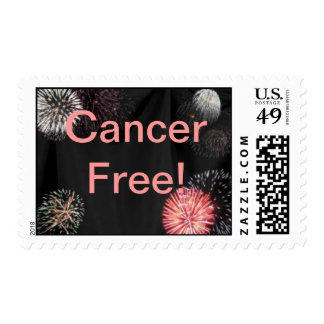 """Cancer Free!"" Stamps"