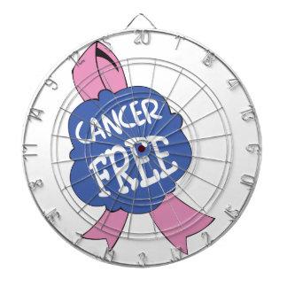 CANCER FREE RIBBON DARTBOARDS