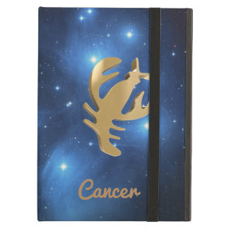 Cancer golden sign cover for iPad air