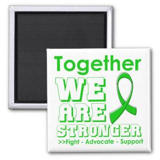 Cáncer hepático juntos somos más fuertes imanes