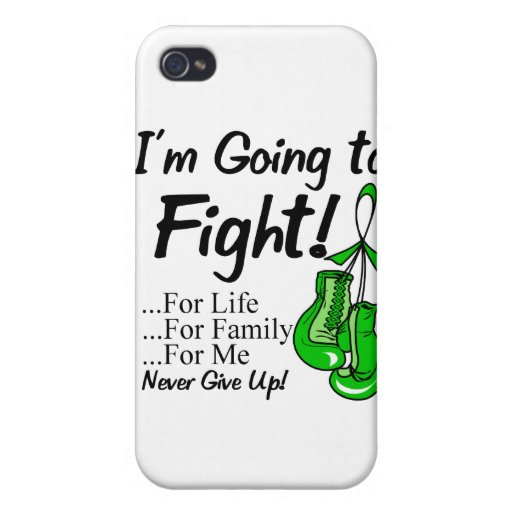 Cáncer hepático voy a luchar iPhone 4 carcasas