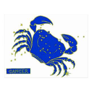 Cancer Horoscope Postcard