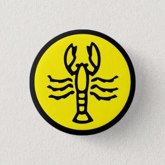 Cancer Horoscope Sign Zodiac Symbol Button