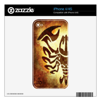 Cancer Horoscope Skin For The iPhone 4S