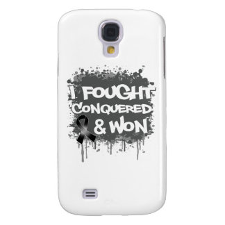 Cancer I Fought Conquered Won Galaxy S4 Cases