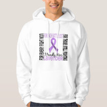 Cancer I Proudly Wear Lavender 2 Hoodie