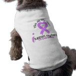 CANCER I Support My Friend Dog Tshirt