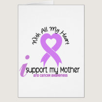 CANCER I Support My Mother Card