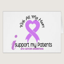 CANCER I Support My Patients Card