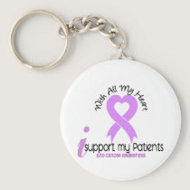CANCER I Support My Patients Keychain