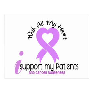 CANCER I Support My Patients Postcard