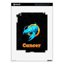 Cancer illustration iPad 3 skin
