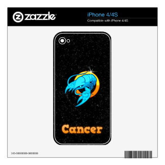 Cancer illustration iPhone 4 decal