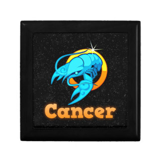 Cancer illustration jewelry box