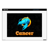 Cancer illustration skin for laptop