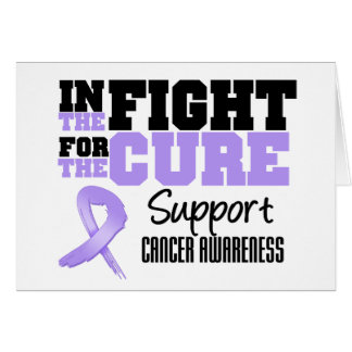 Cancer In The Fight For The Cure Greeting Card